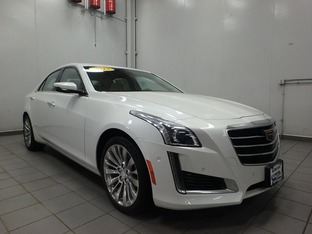 Pre Owned 2015 Cadillac Cts 2 0l Turbo Performance 4d Sedan In