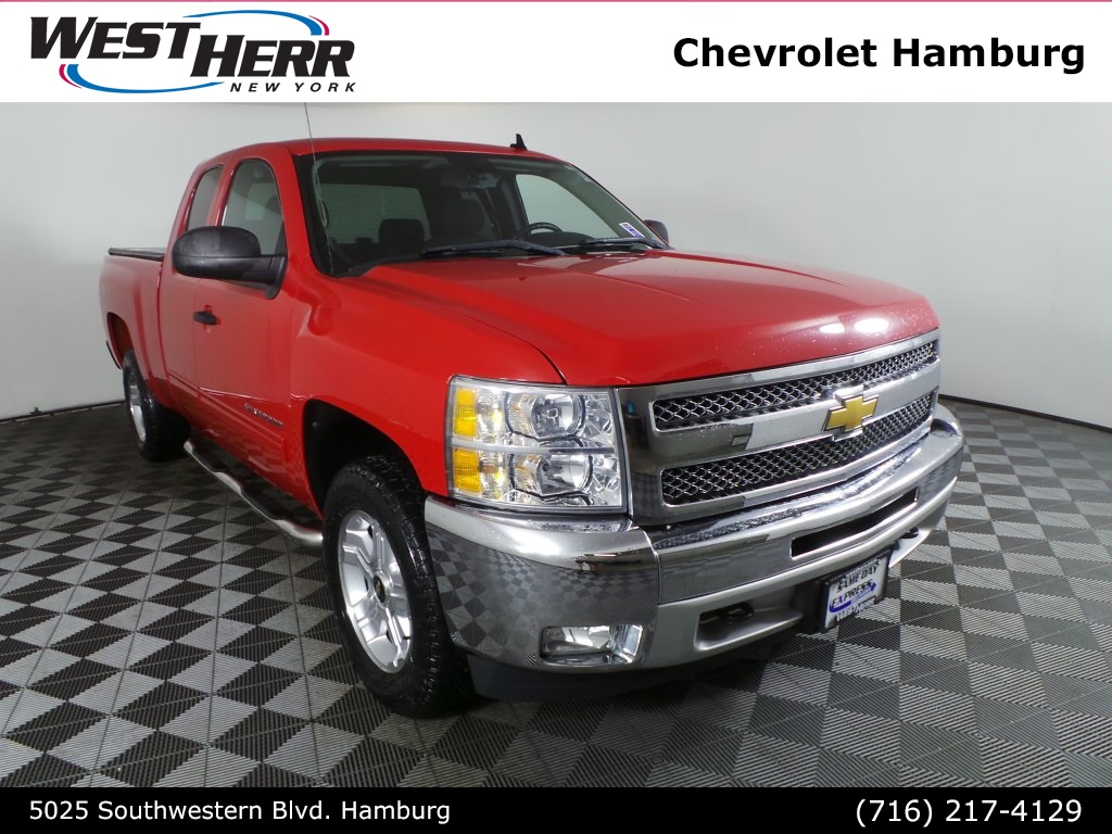 West Herr Chevy Hamburg >> Pre Owned 2012 Chevrolet Silverado 1500 Lt 4d Crew Cab In