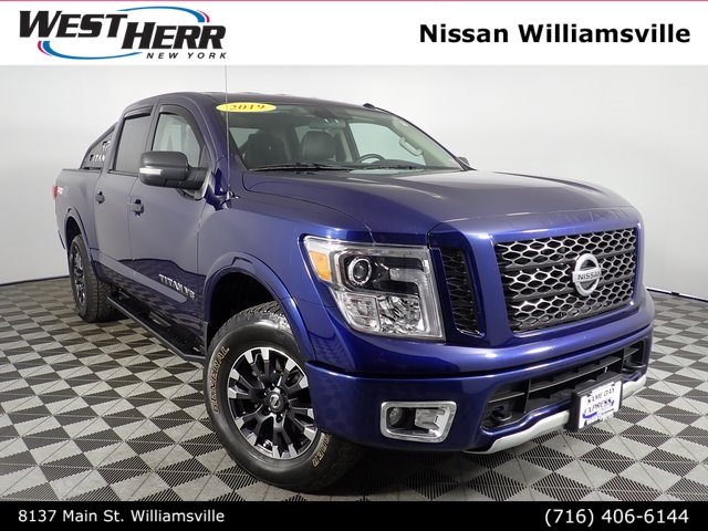 Pre-Owned 2019 Nissan Titan PRO