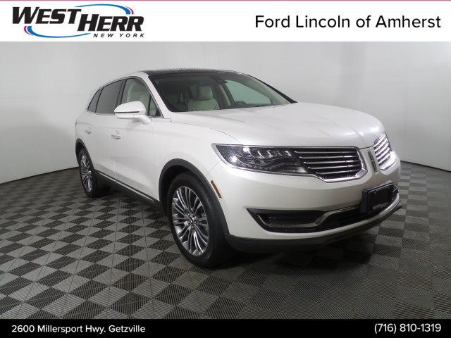 Pre Owned 2016 Lincoln Mkx Reserve 4d Sport Utility In Williamsville Lax191217a Infiniti Of