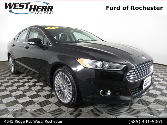 Pre Owned 2016 Ford Fusion Anium 4d Sedan In Williamsville Fa19l0236 Infiniti Of