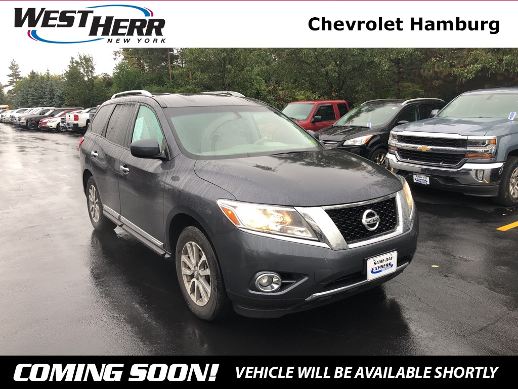 High Quality Pre Owned 2013 Nissan Pathfinder SL
