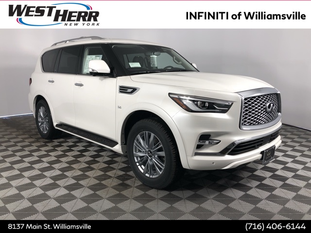 New 2019 Infiniti Qx80 Luxe 4wd Suv In Williamsville Iwx19091