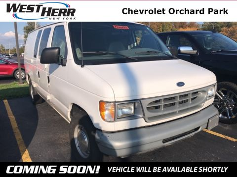 Pre-Owned 2000 Ford E-150 Commercial