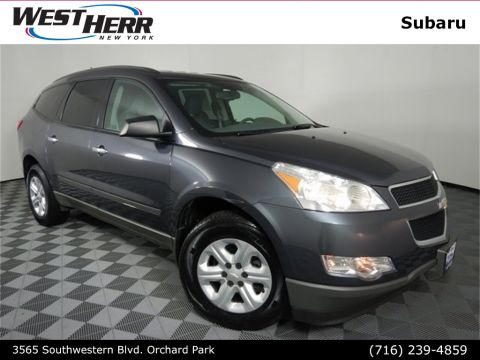 Pre-Owned 2012 Chevrolet Traverse LS