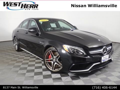 Pre-Owned 2016 Mercedes-Benz C-Class C 63 S AMG®