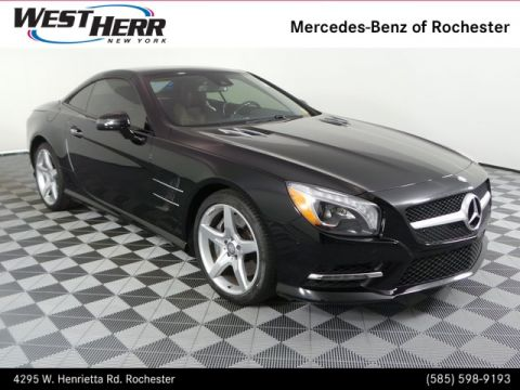 Pre-Owned 2015 Mercedes-Benz SL-Class SL 550